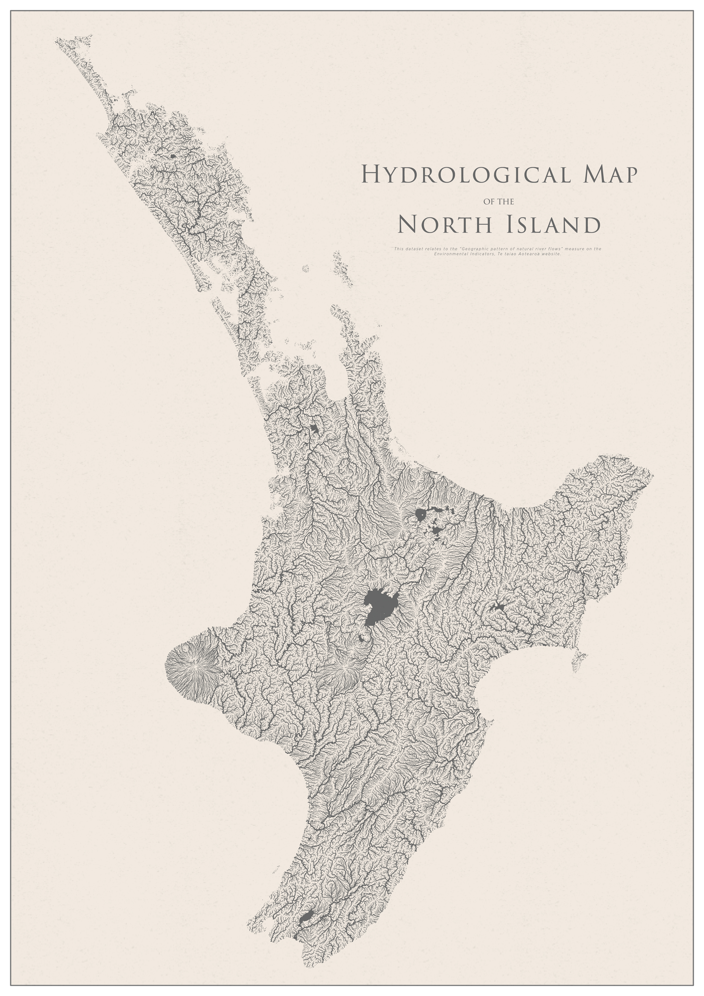 Hydrological Map of the North Island